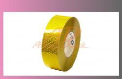páska reflexní-žlutá-na pevný podklad-REFLEXITE