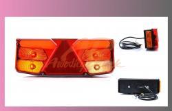 lampa zadní LED - návěs - LEVÁ  - 1