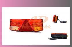 lampa zadní LED - návěs - PRAVÁ  - 1