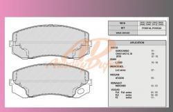 desky brzdové MITSUBISHI FUSO P+Z -Fritech