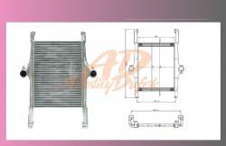 předchladič IVECO STRALIS  - 1