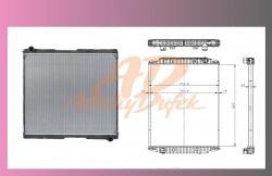 chladič vody IVECO EUROSTAR/EUROTECH