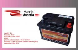 autobaterie AD-TRUCK   45Ah/12V/360A