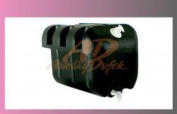 nádrž na vodu 30l-černá- s držáky  - 1