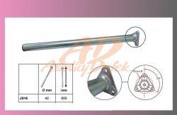 držák blatníku-pr.42-d=650mm-rovný