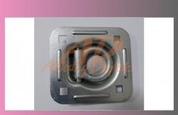 miska kotvící 115x124mm- zapuštěná  - 1