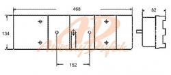lampa zadní návěs-Pravá-průchodka  - 3