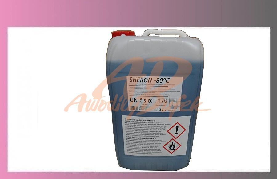 kapalina do ostřikovačů-25l -80-SHERON