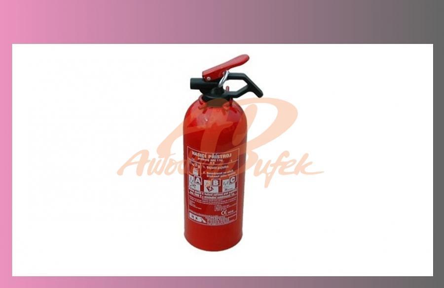 přístroj hasicí práškový 1 kg
