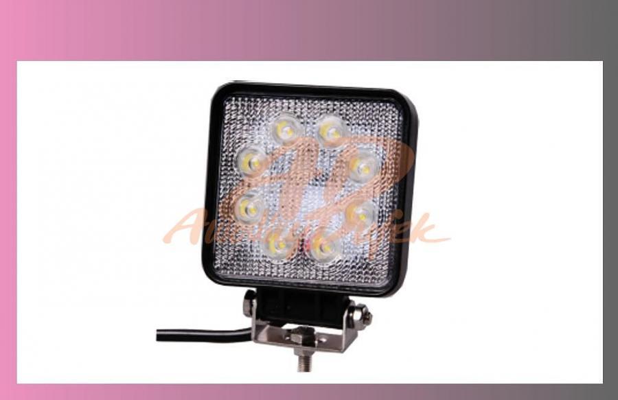 reflektor prac.LED-12/24V-107x107-+kabel