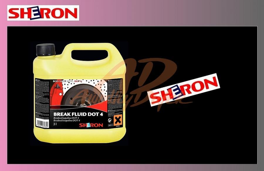 kapalina brzdová 3l DOT4-SHERON