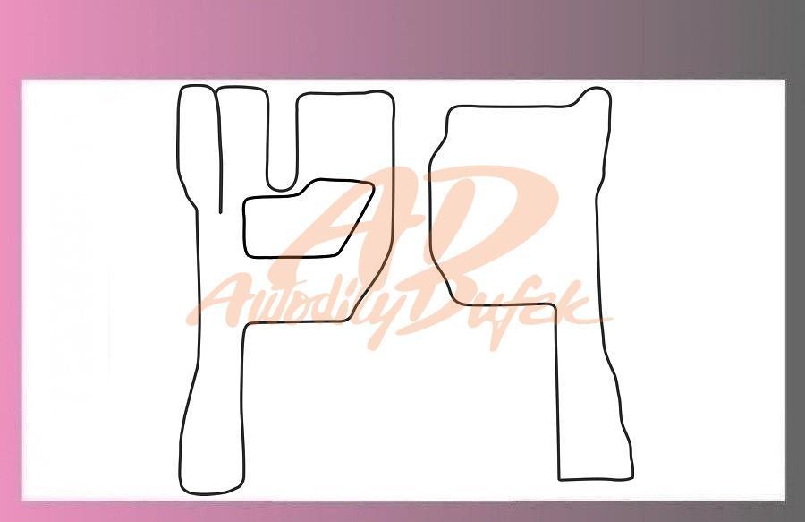 autokoberce VOLVO FH13 -textilní-pár