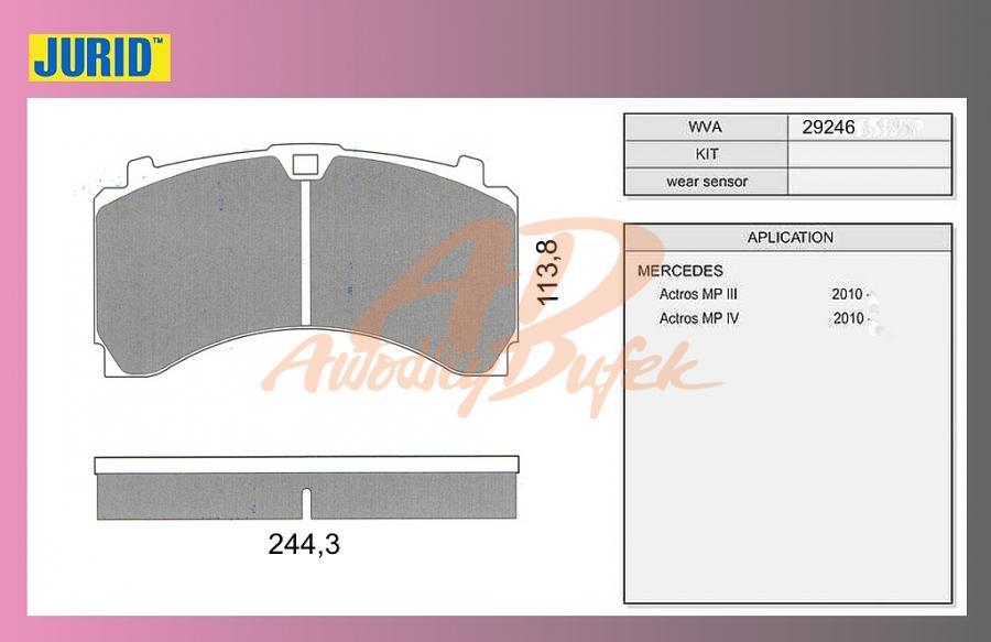 desky brzdové ACTROS-MP4-přední-JURID