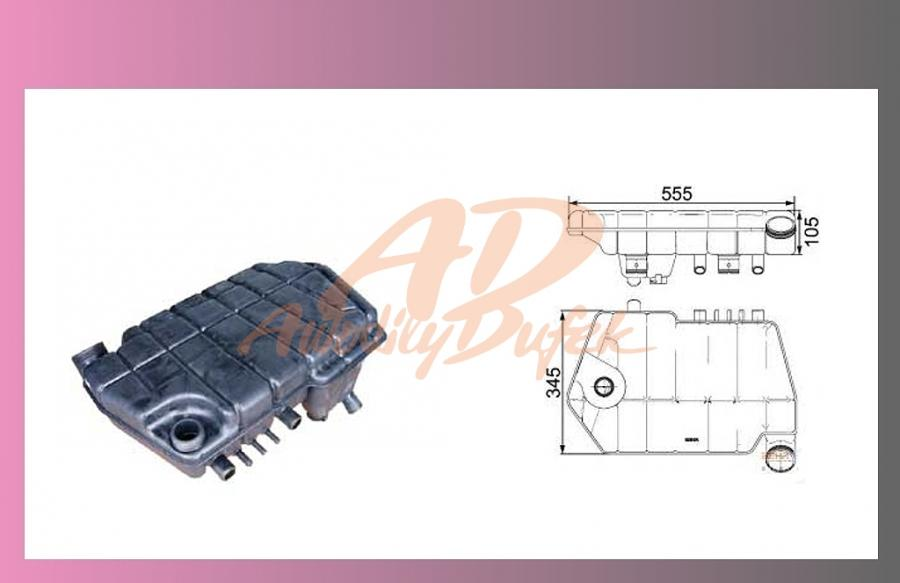 nádrž expanzní DAF XF95-BEHR