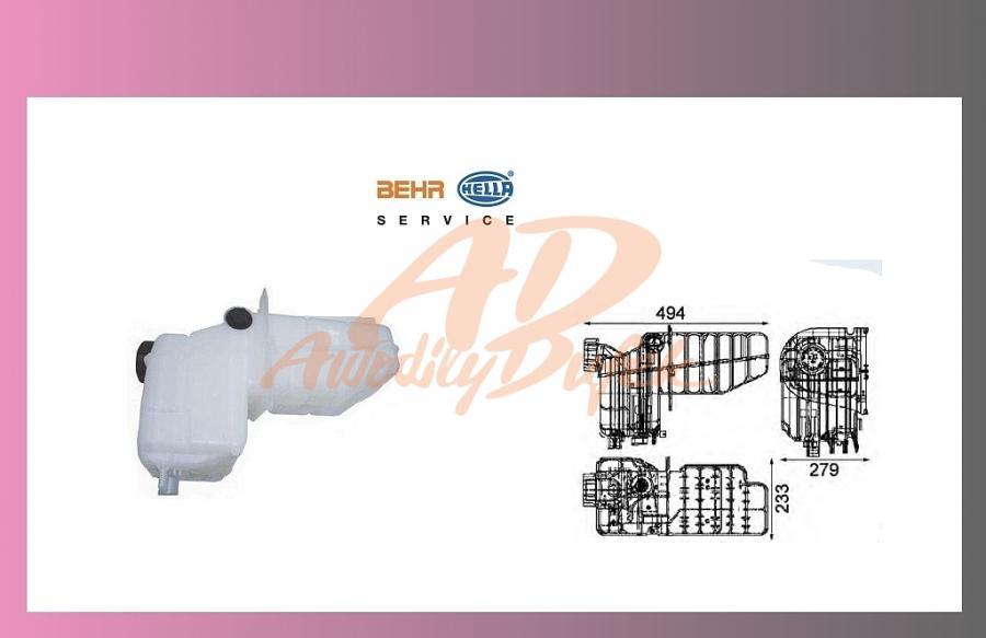 nádrž expanzní SCANIA 124-BEHR