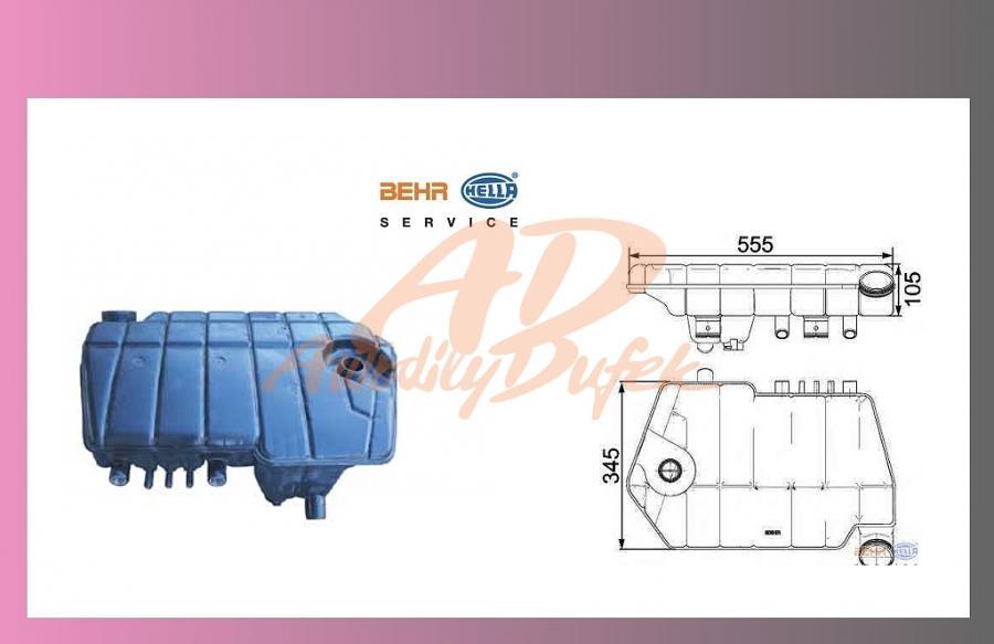nádrž expanzní DAF XF105-BEHR