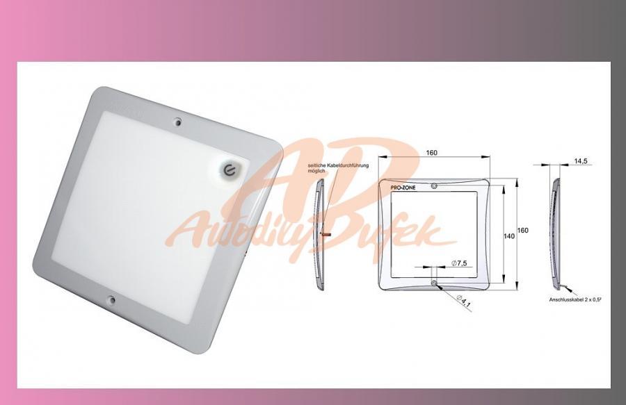 světlo vnitřní-LED-PRO ZONE-12V+vypinač