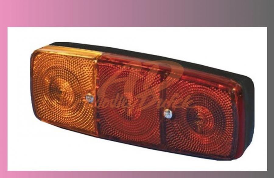 lampa zadní MERCEDES-3.komorová-Levá/SPZ