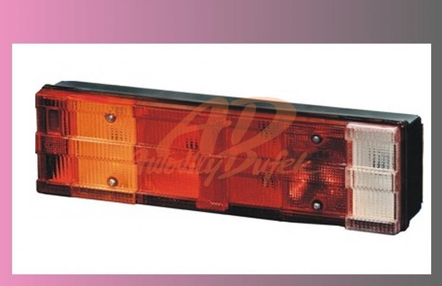 lampa zadní MB ATEGO-Levá+SPZ,zástrčka