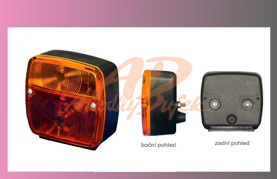 lampa zadní L+P-SPZ