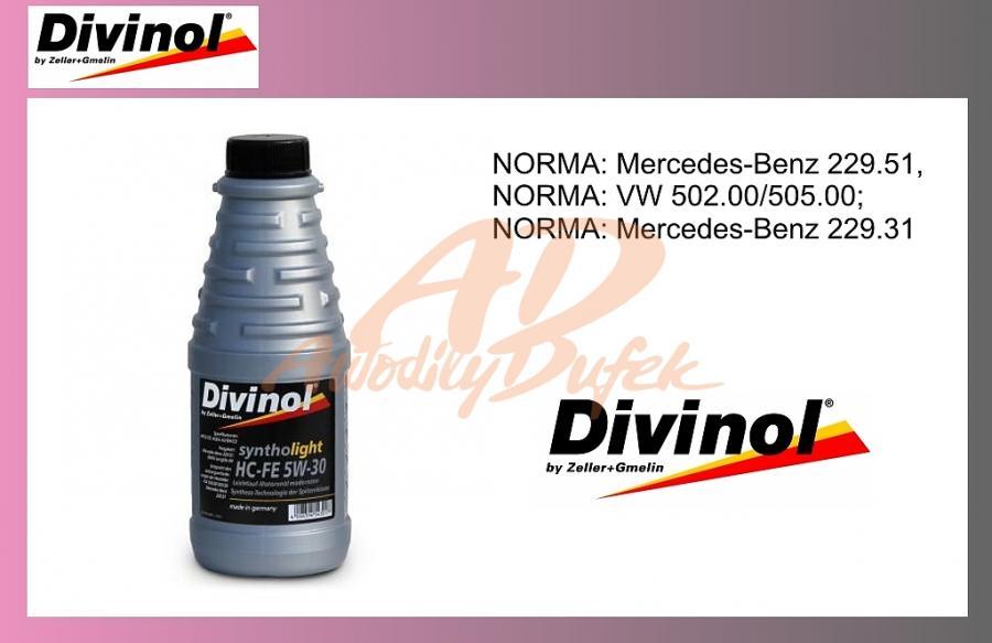 olej mot.DIVINOL 5W30 1l-HC-FE