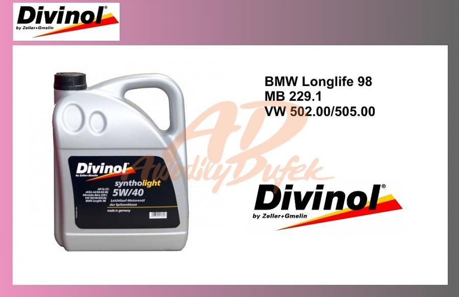 olej mot.DIVINOL 5W40-5L