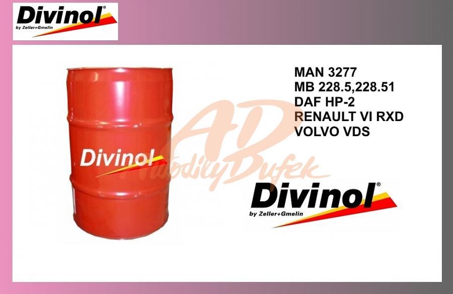 olej mot.DIVINOL 10W40-200l-Plus-synteti