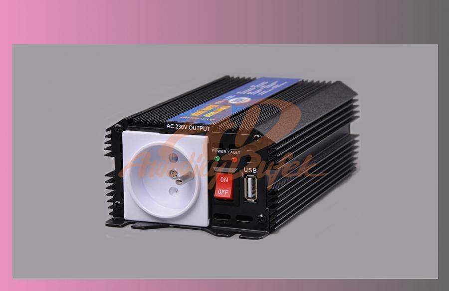 měnič napětí /z 24V na 230V/-300W