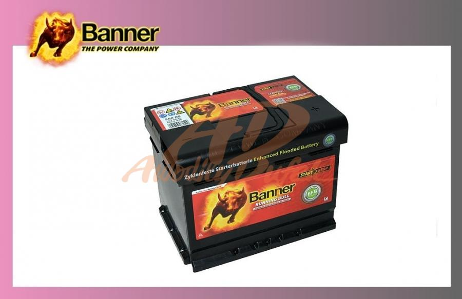 autodily dufek autobaterie banner 60ah 12v 560a runn bull. Black Bedroom Furniture Sets. Home Design Ideas