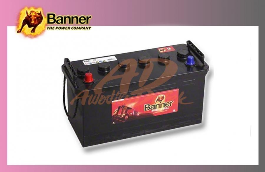 baterie BANNER 100Ah/12V/600A Buff.Bull