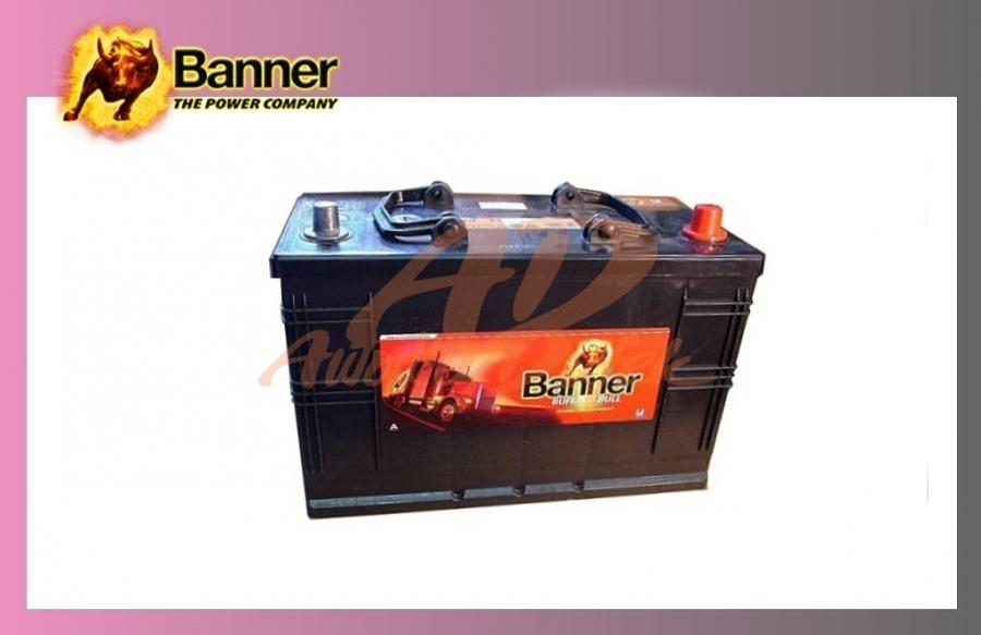 baterie BANNER 110Ah/12V/720A Buff.Bull