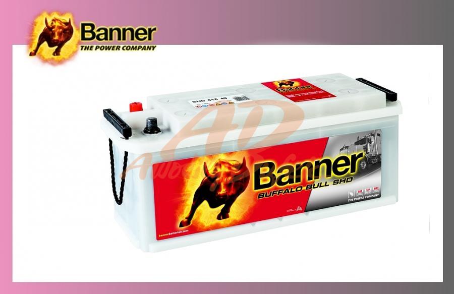 baterie BANNER 110Ah/12V/760A SHD