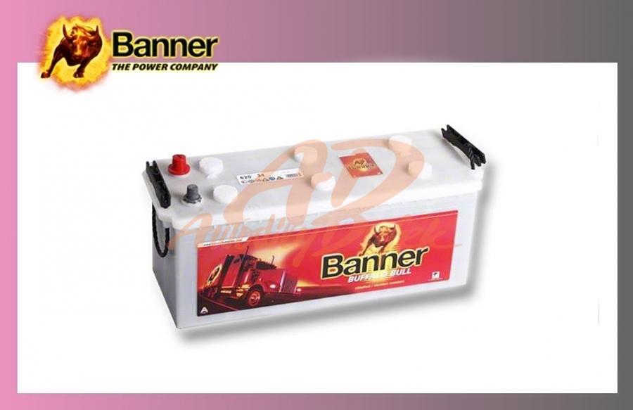 baterie BANNER 120Ah/12V/720A Buff.Bull