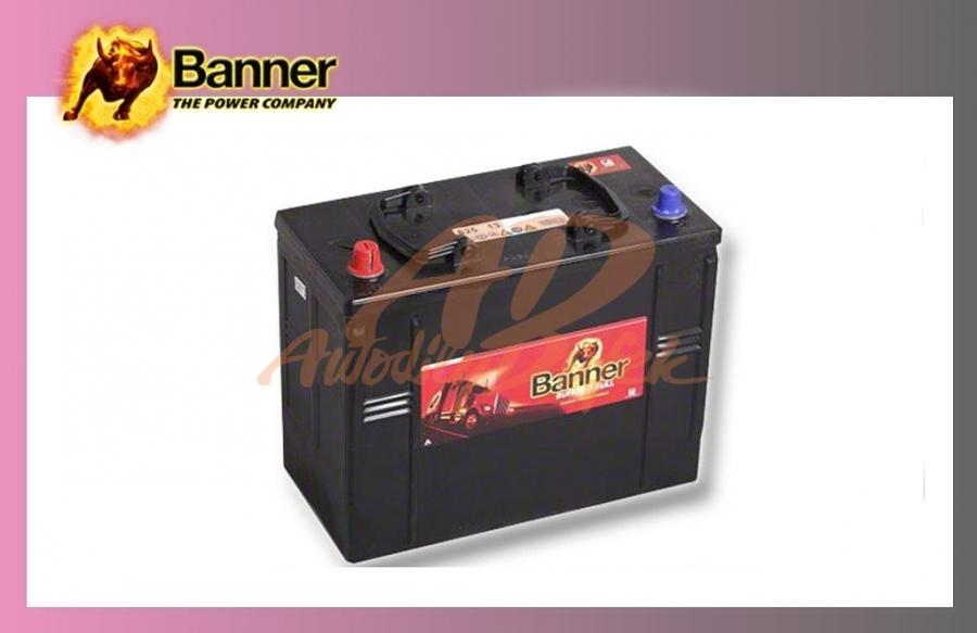 baterie BANNER 125Ah/12V/760A Buff.Bull