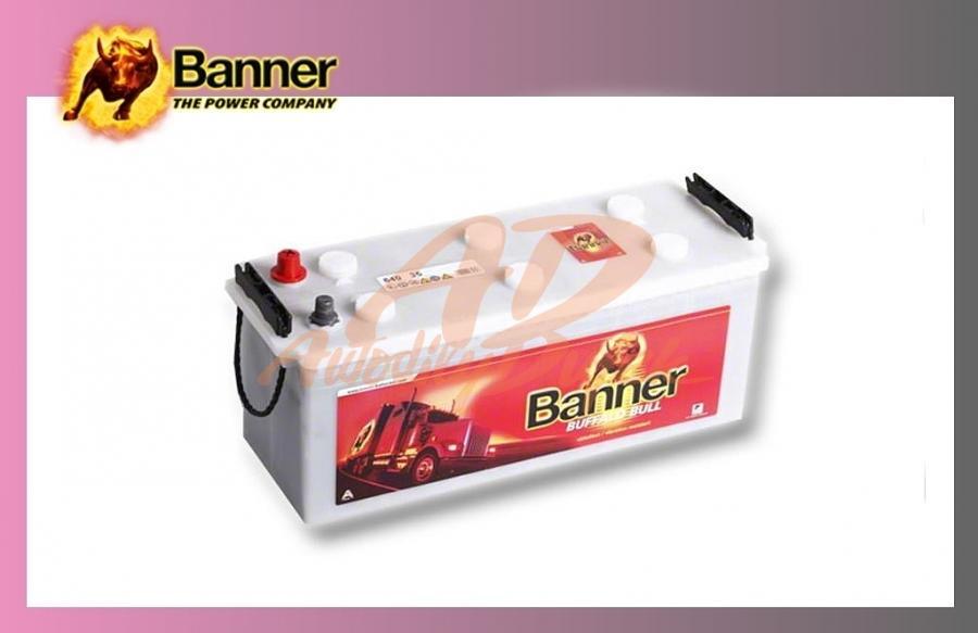 baterie BANNER 140Ah/12V/720A Buff.Bull