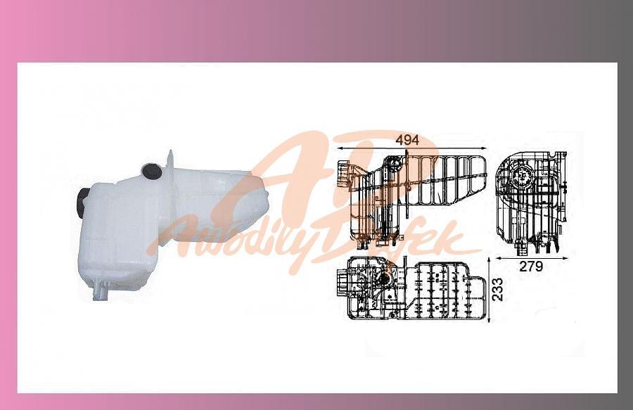 nádrž expanzní SCANIA 124-