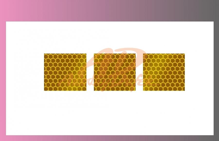páska reflexní-žlutá-na plachtu