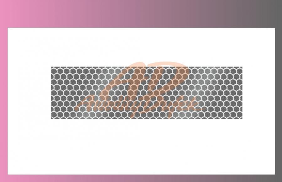 páska reflexní-bílá-na pevný podklad