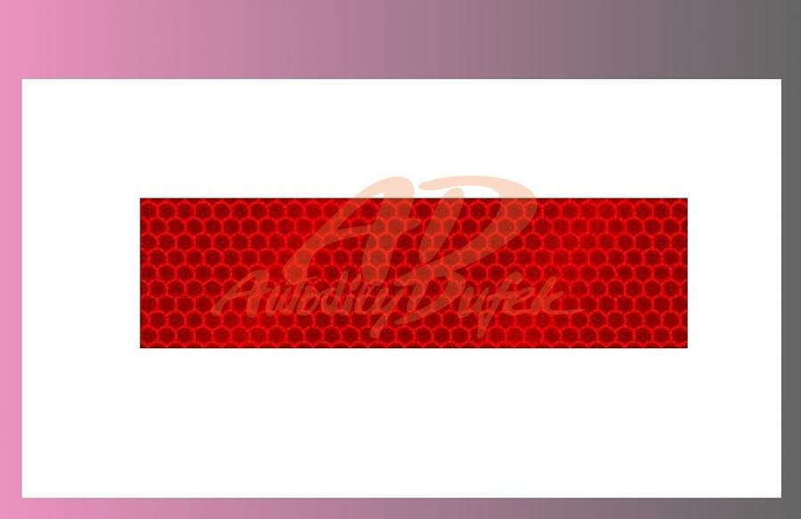 páska reflexní-červená-na pevný podklad