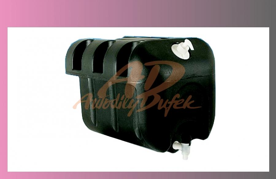 nádrž na vodu 30l-černá- bez držáků