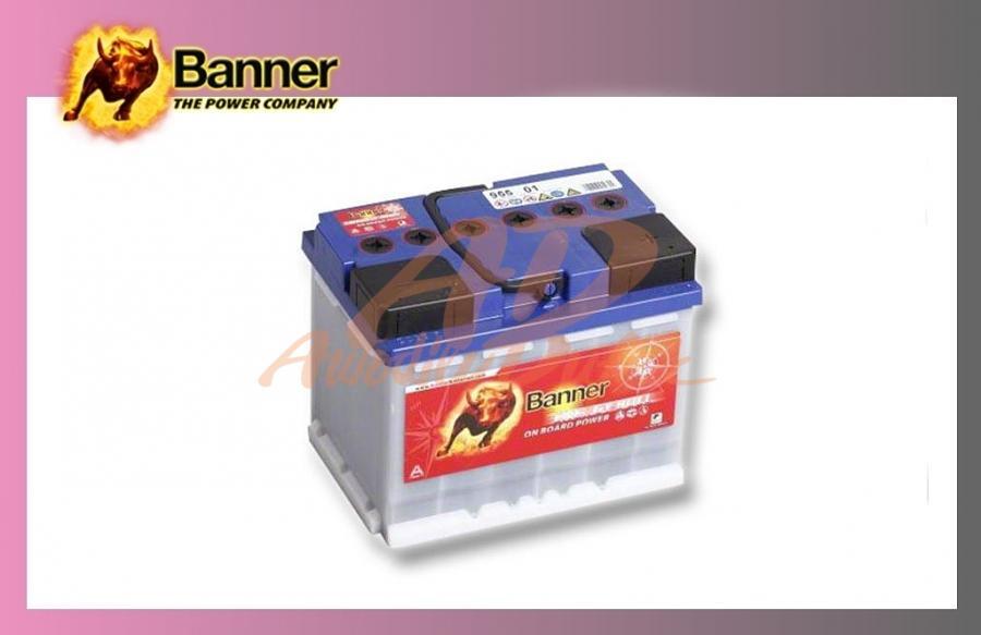 baterie BANNER 60Ah/12V-trakční Energy