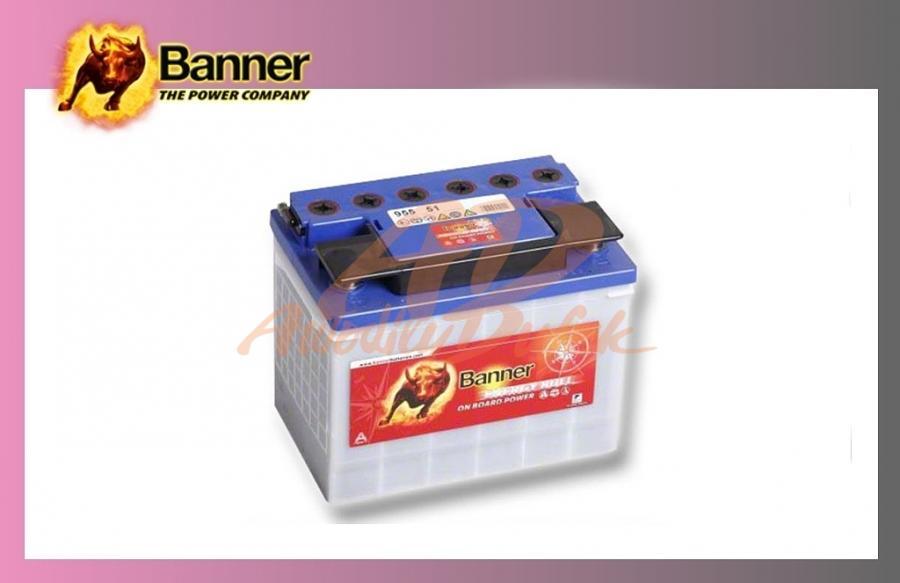 baterie BANNER 72Ah/12V-trakční Energy
