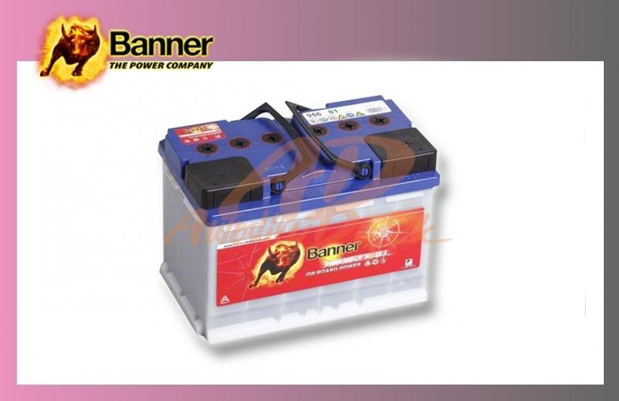 baterie BANNER 80Ah/12V-trakční Energy