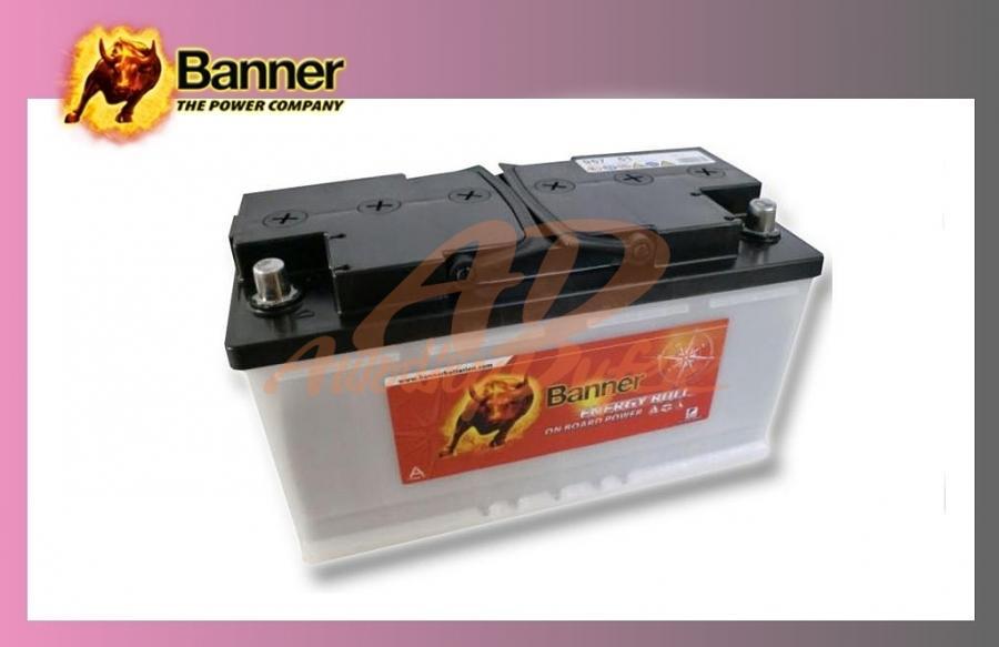baterie BANNER 100Ah/12V-trakční Energy