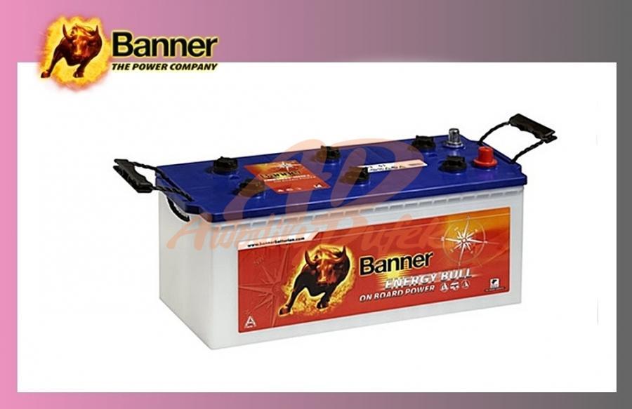 baterie BANNER 130Ah/12V-trakční Energy