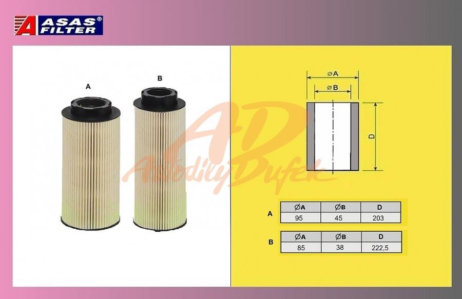 filtr naftový SCANIA 124 07-