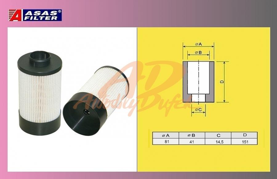 filtr naftový IVECO DAILY 06-ASAS