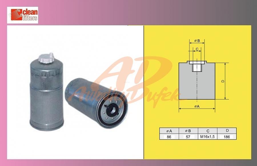 filtr naftový IVECO DAILY 35C13