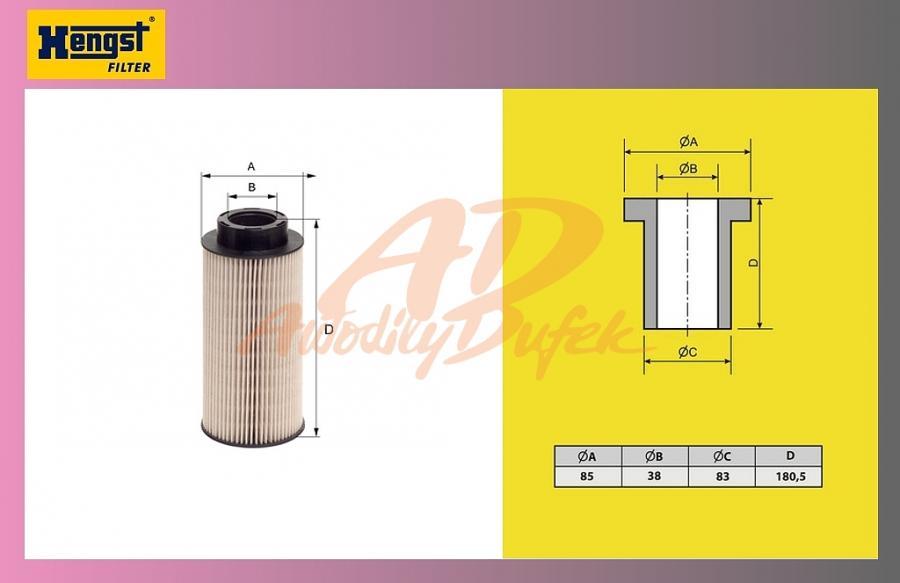 filtr naftový SCANIA 124 Euro 3,2004-