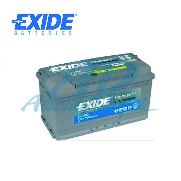 baterie EXIDE 100Ah/12V/900A-PREMIUM